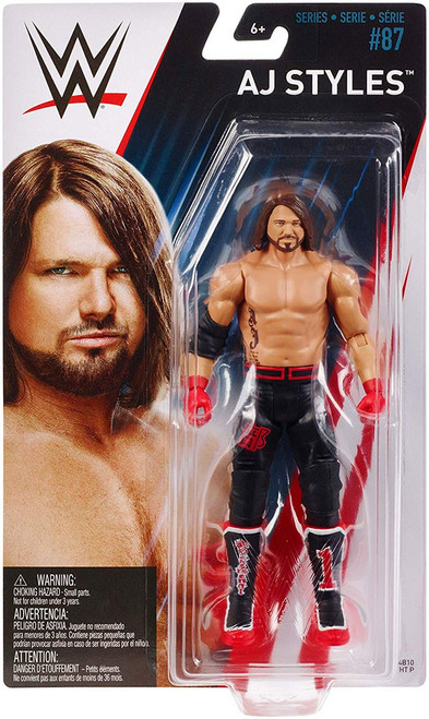 WWE Wrestling Series 87 AJ Styles Action Figure