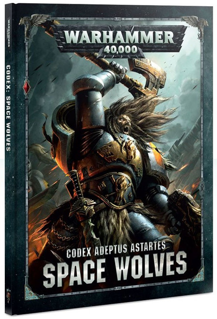 Warhammer 40,000 Codex: Space Wolves Hardcover Book