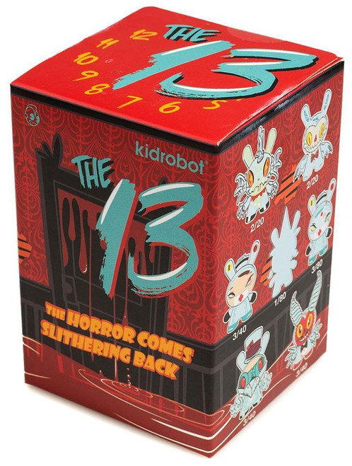 Dunny 13 Series: The Horror Comes Back 3-Inch Mystery Pack