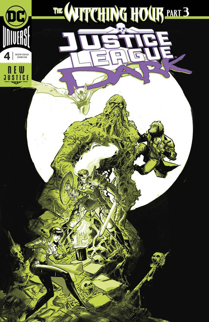 DC Justice League Dark #4 Witching Hour Comic Book [Foil]