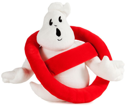 Phunny Ghostbusters Logo 8-Inch Plush