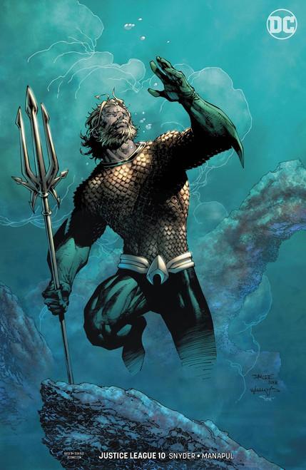 DC Justice League #10 Drowned Earth Comic Book [Jim Lee & Scott Williams Variant]