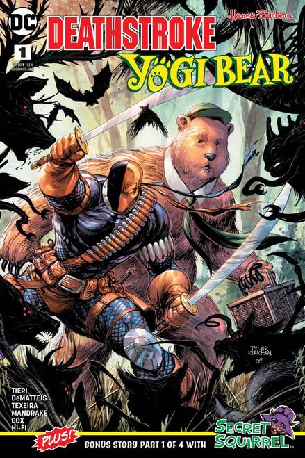 DC Deathstroke & Yogi Bear Special #1 Comic Book