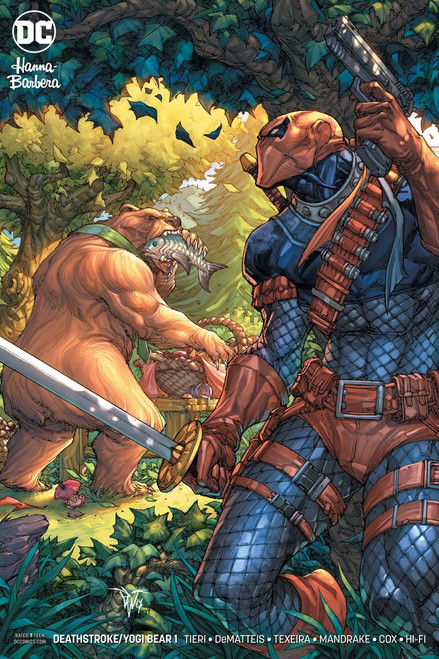 DC Deathstroke & Yogi Bear Special #1 Comic Book [Variant]