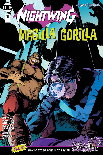 DC Nightwing & Magilla Gorilla Special #1 Comic Book