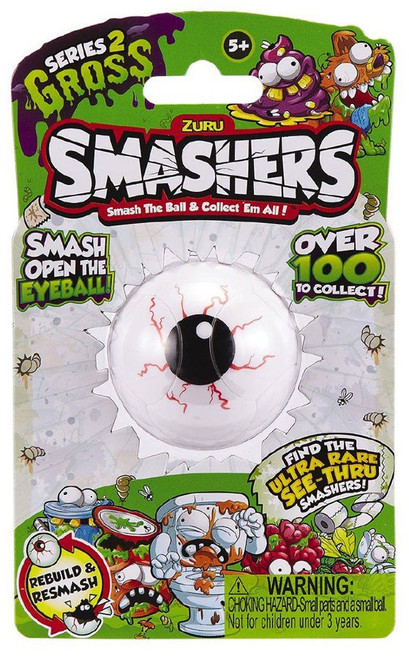 Smashers Series 2 Gross Mystery Pack
