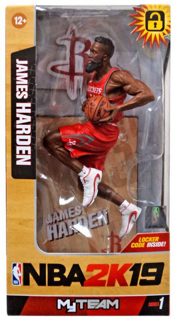 McFarlane Toys Houston Rockets NBA 2K19 MyTeam Series 1 James Harden Action Figure