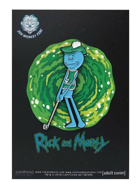 Rick & Morty Mr. Meeseeks 1.6-Inch Enamel Pin [Golfing]