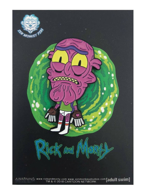 Rick & Morty Scary Terry 1.6-Inch Enamel Pin [Underwear]
