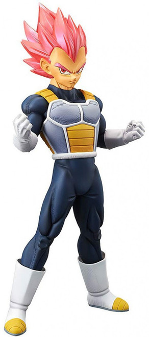 Dragon Ball Z Cyokoku Buyuden Collection Super Saiyan God Vegeta 8.4 Collectible PVC Figure