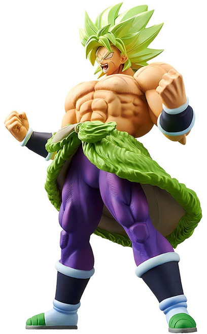 Dragon Ball Super Cyokoku Buyuden Collection Super Saiyan Broly Full Power 9.1-Inch Collectible PVC Figure