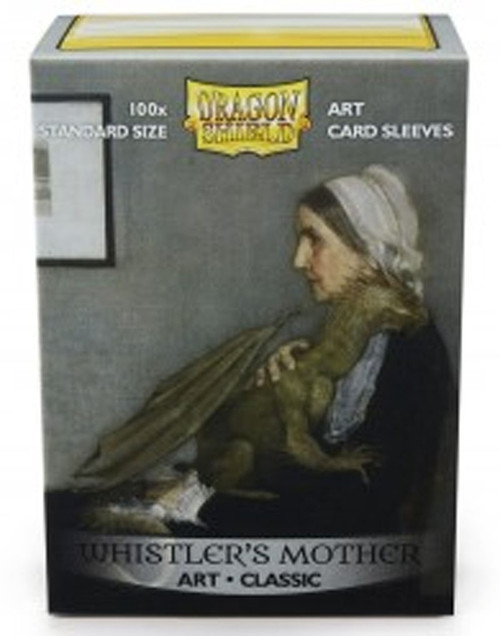 Card Supplies Dragon Shield Art Whistler's Mother Standard Card Sleeves [100 Count]