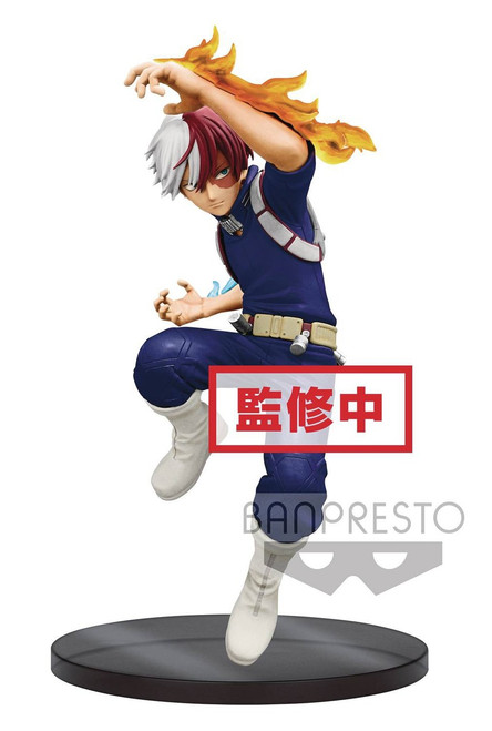 My Hero Academia The Amazing Heroes Shoto Todoroki 5.9-Inch Collectible PVC Figure #02