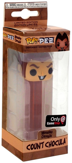 Funko General Mills Monster Cereals POP! PEZ Count Chocula Exclusive Candy Dispenser