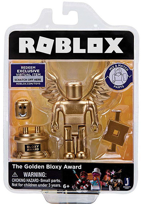 Roblox The Golden Bloxy Award Action Figure