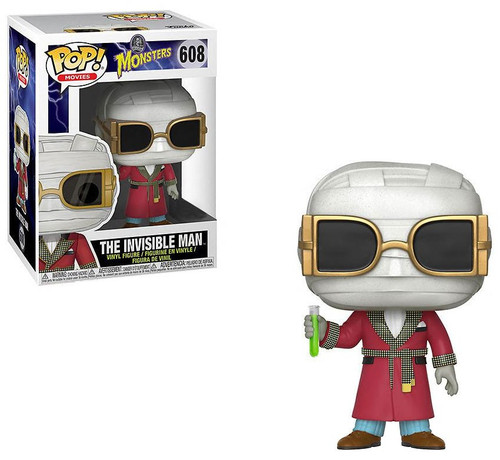 Funko Universal Monsters POP! Movies The Invisible Man Exclusive Vinyl Figure #608