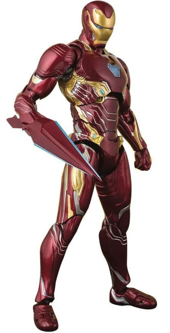 Marvel Avengers Infinity War S.H. Figuarts Iron Man MK50 Action Figure [Nano Weapon Set]