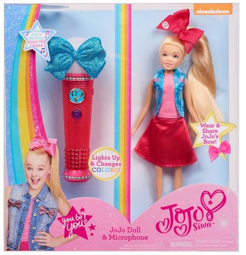 Nickelodeon JoJo Siwa JoJo Doll & Microphone Exclusive Set