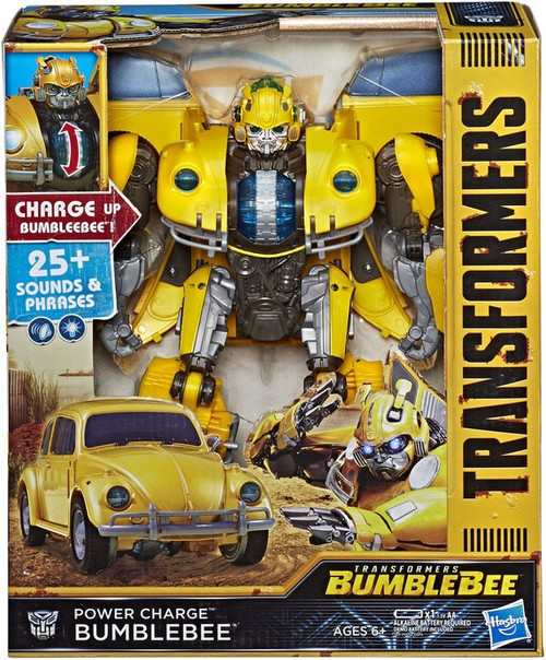 "Transformers Power Charge Bumblebee 10.5"" Action Figure"