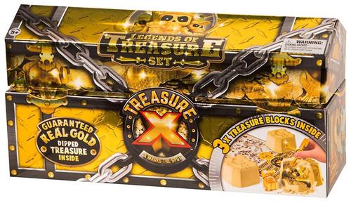 Treasure X Series 1 Legends of Treasure 3-Pack Set [Guaranteed Gold Dipped Treasure Inside!]