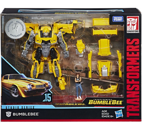 Transformers Generations Studio Series Bumblebee Deluxe Action Figure #15 [Rebekah's Garage with Charlie]