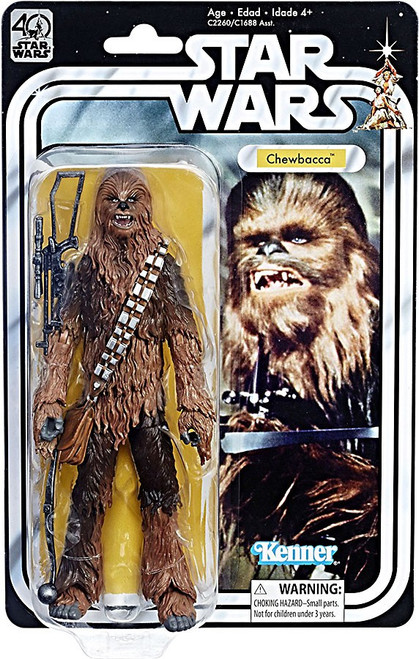 Star Wars Black Series 40th Anniversary Wave 2 Chewbacca Action Figure