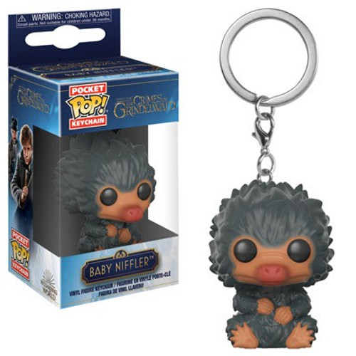 Funko Harry Potter Fantastic Beasts The Crimes of Grindelwald POP! Movies Baby Niffler Keychain [Gray]