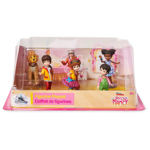 Disney Fancy Nancy Exclusive 6-Piece PVC Figure Play Set [2018]