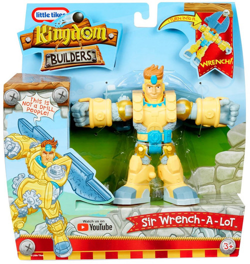 Little Tikes Kingdom Builders Sir Wrench-A-Lot Action Figure