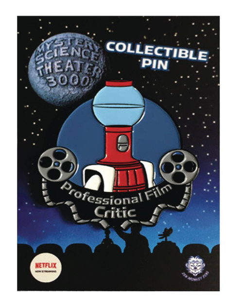 Mystery Science Theater 3000 Tom Servo 1.5-Inch Film Critic Pin