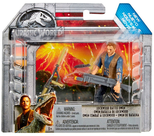 Jurassic World Fallen Kingdom Lockwood Battle Owen Action Figure