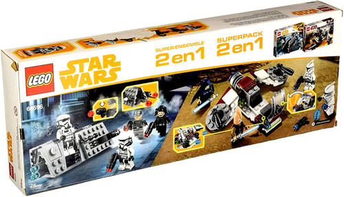 LEGO Star Wars Super Pack 2 in 1 Exclusive Set #66596
