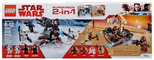 LEGO Star Wars Super Pack 2 in 1 Exclusive Set #66597