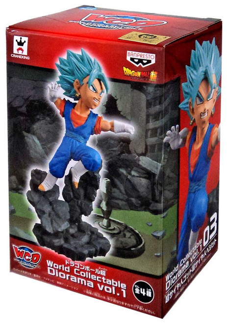Dragon Ball Super WCD Vol. 1 Super Saiyan Blue Vegetto Collectible Figure