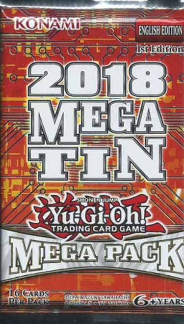 YuGiOh Trading Card Game 2018 Mega Tin Mega Booster Pack [16 Cards!]
