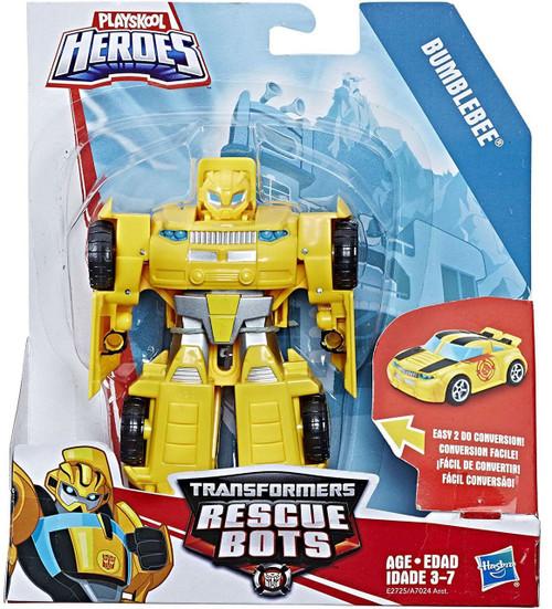Transformers Playskool Heroes Rescue Bots Bumblebee Action Figure [Rescan ]