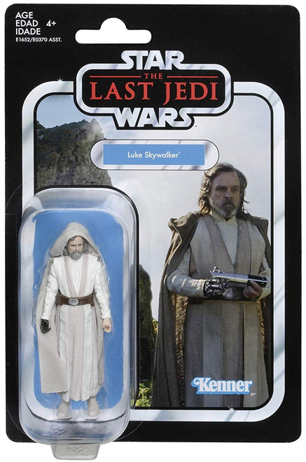 Star Wars Vintage Collection Luke Skywalker Action Figure [Jedi Master]