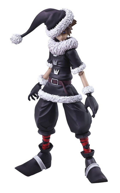 Disney Kingdom Hearts II Bring Arts Sora Action Figure [Christmas Town Version]