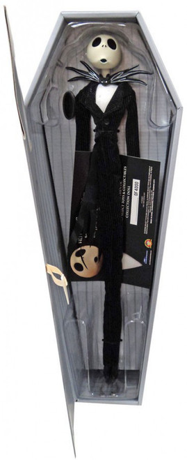Nightmare Before Christmas 25th Anniversary Coffin Doll Jack Skellington Exclusive 16-Inch