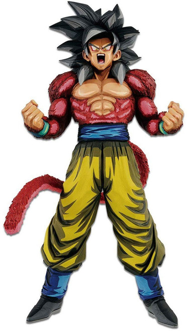 Dragon Ball GT Grandista Manga Dimensions Super Saiyan 4 Son Goku 13-Inch Collectible PVC Figure