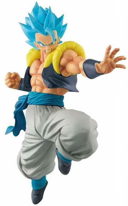 Dragon Ball Super Ultimate Soldiers: The Movie Super Saiyan Blue Gogeta 8.2-Inch Collectible PVC Figure