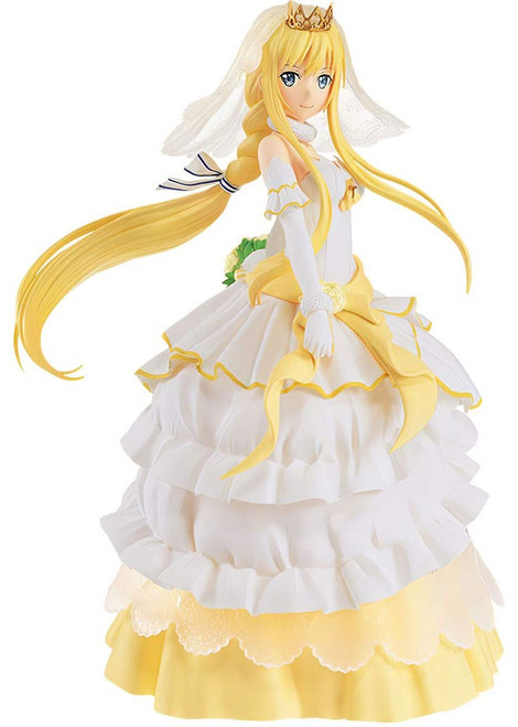 Sword Art Online: Code Register EXQ Figure Collection Alice 8.3-Inch Collectible PVC Figure [Wedding Dress]