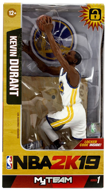 McFarlane Toys Golden State Warriors NBA 2K19 MyTeam Series 1 Kevin Durant Action Figure