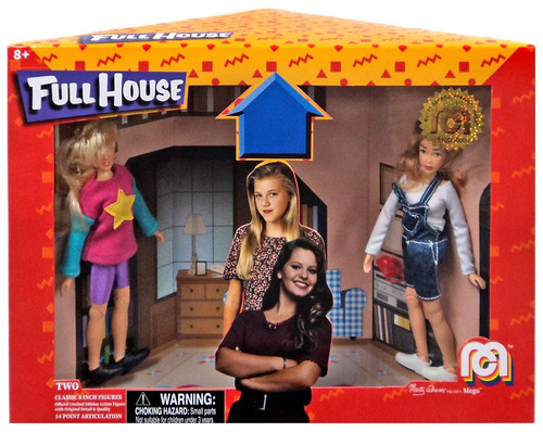 Full House TV Favorites DJ & Stephanie Tanner Exclusive Action Figure 2-Pack