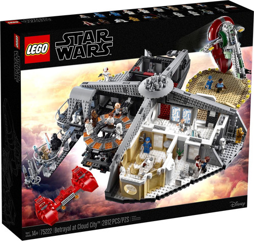 LEGO Star Wars The Empire Strikes Back Betrayal at Cloud City Set #75222