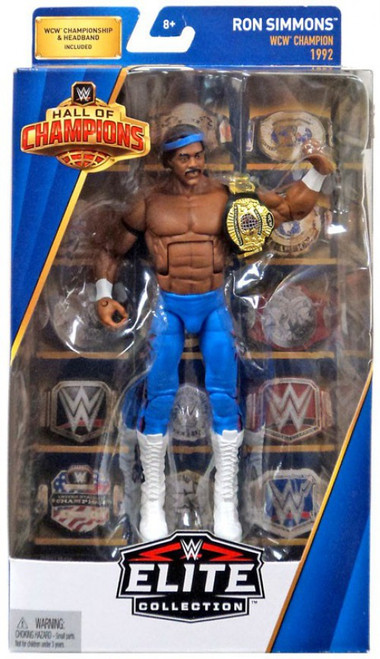 WWE Wrestling Elite Hall of Champions Ron Simmons Exclusive Action Figure
