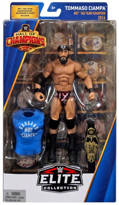 WWE Wrestling Elite Hall of Champions Tommaso Ciampa Exclusive Action Figure