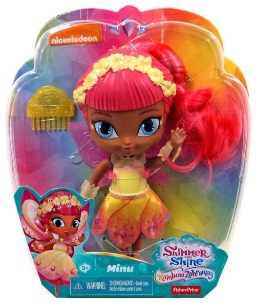 Fisher Price Shimmer & Shine Rainbow Zahramay Minu 6-Inch Basic Doll