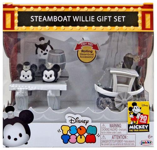 Disney Mickey the True Original Tsum Tsum Steamboat Willie Gift Set Exclusive