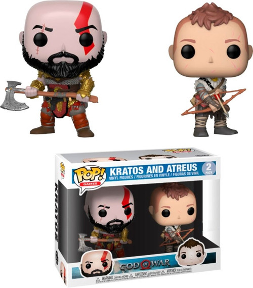 Funko God of War POP! Games Kratos & Atreus Exclusive Vinyl Figure 2-Pack